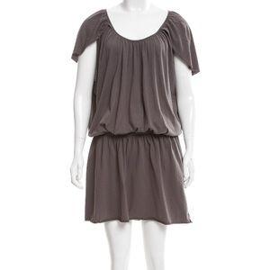 BLACK CRANE Blouson Dress Mushroom Taupe GUC